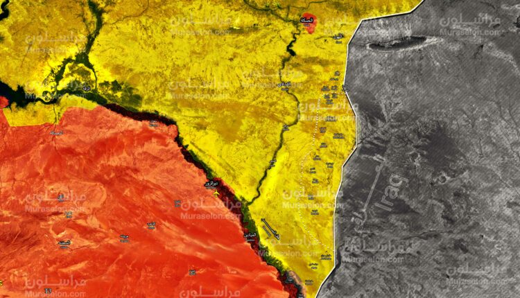 The Syrian Democratic Forces (SDF) have declared the entire border - in eastern Euphrates - with Iraq safe, after securing it from ISIS militants.