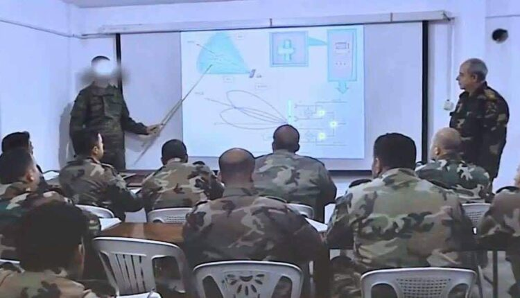First S-300 training video of Syrian air defense officers