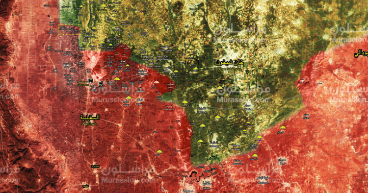 Breaking: Syrian Army slashes its way forward on new front in south Idlib (MAP)