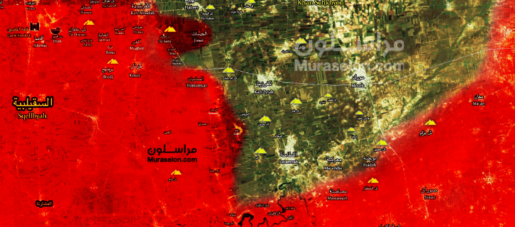 Breaking: Syrian Army snatches another town from militants in north Hama (MAP)